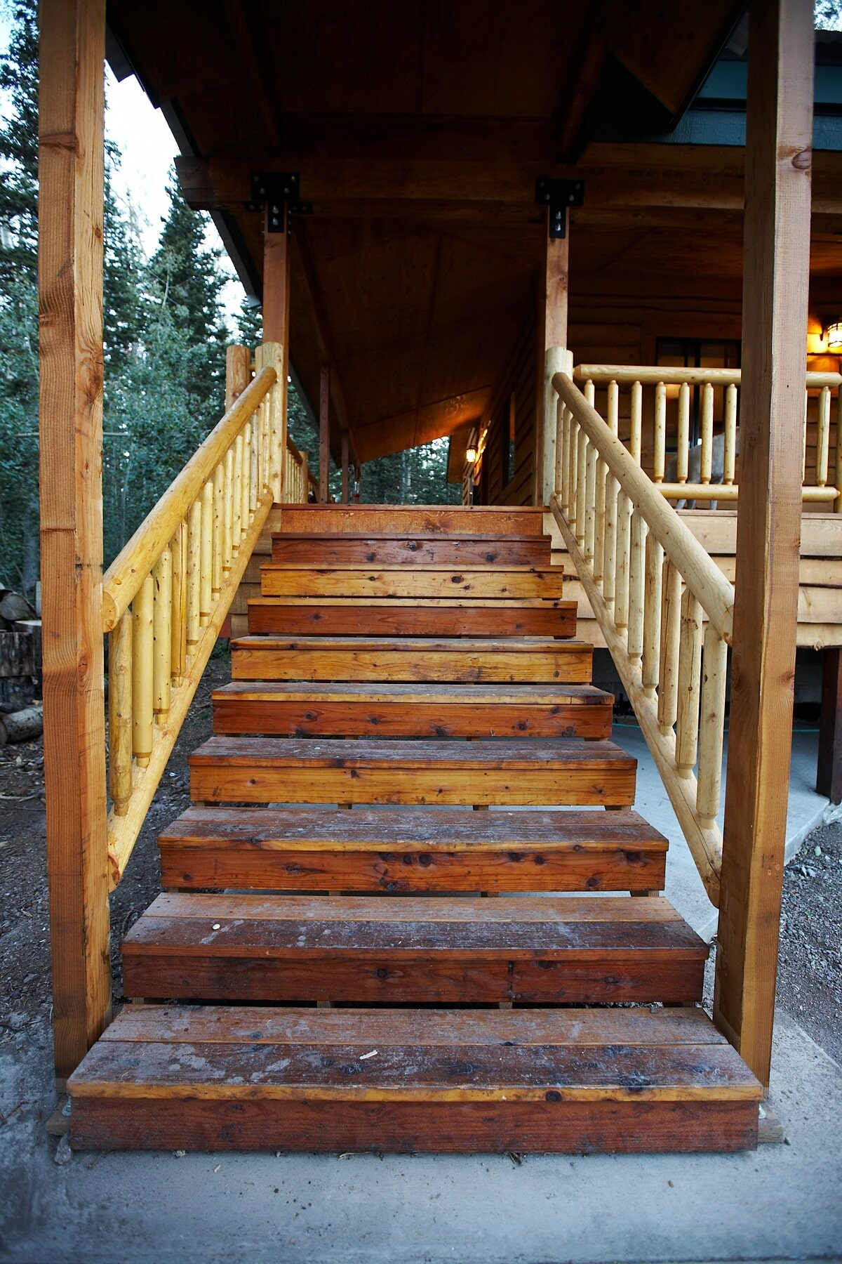Fir Cabin Steps